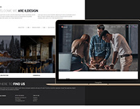 Web design for Architectural Studio