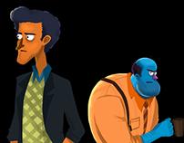 Animação - Delegacia