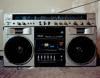 Spot radio.