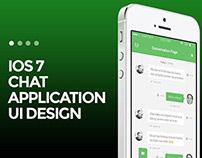 Messaging Application iOS7