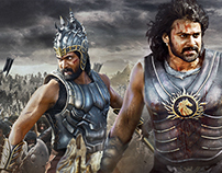 BAHUBALI - Movie poster 2