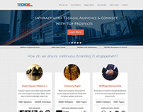 Website design for Techgig