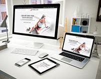 Сайт студии тренинга и красоты Sport Style