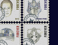 Letter Society Project 15: Stamps