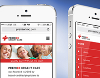 Logo & Website Redesign for Premier Urgent Care