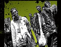 Official Walker Stalker Atlanta 2014 Poster