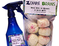 Zombie Brains! Kids Bath & Body Products