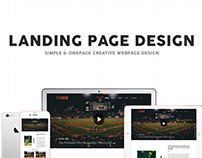 Landing Page Design for Pitchview