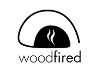 Wood fired Pizza Logo