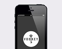 Vodkey Landing Page & Launch Promo