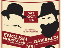 National Beard & Moustache Championship Event Campaign