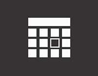 Calendar App Concept for Windows