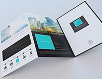 Elegant Large Trifold Property Brochure Template