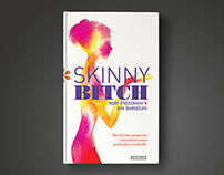 Editorial design for the book Skinny Bitch