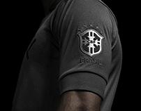 Camisa preta da Seleção