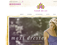 Fleur De Lei | e-Commerce Website Design