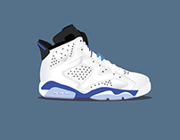 Air Jordan 6 Illustrations