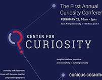 Center for Curiosity promotional materials