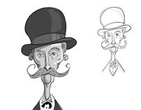 Bowler Hat Man