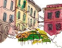 L'italie - Carnet de voyage