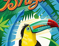 Brazilian Travel Posters