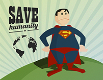 Superman concet (trabajo personal)
