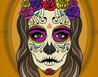 Self Portrait - Day of the Dead