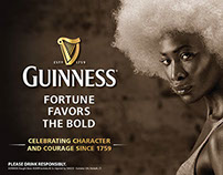 Diageo: Guinness - Fortune Favors the Bold Campaign