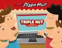 PIZZA HUT - Triple Hut