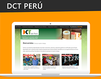 Página Web para DCT Perú