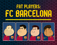 Fat Players: FC Barcelona