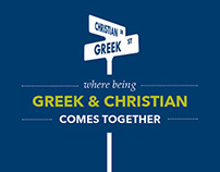 Greek InterVarsity Booklet Brochure