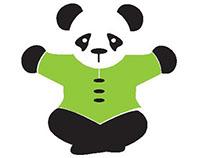 Peaceful Panda l Logo + Business Card