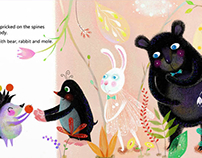 "Picture Book ""Give me a hug""(2)"