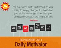 Daily Motivator, Inspiration Quotes, Mark Sanborn