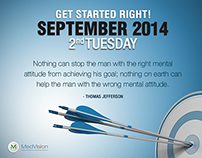 Inspiration Quotes, Daily Motivator, Thomas Jefferson
