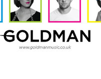 Goldman Band Visual Branding