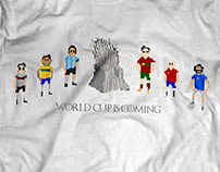 Soccer t-shirt design