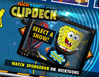 Nickelodeon UK: Nicktoons ClipDeck