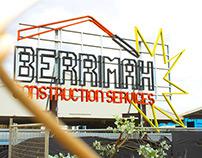 Berrimah Construction Services logo design