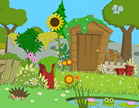 Nick Jr: Little Green Fingers Site