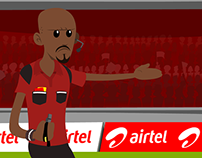 Airtel - Asset design & animation