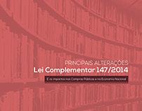 Principais alterações  |  LC 147/2014