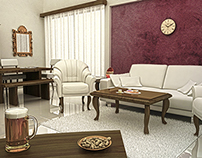 A Classic Living Room