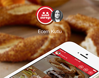 Simit Sarayı iOS App ( Concept Design )