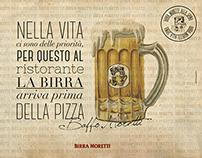 Birra Moretti - Tovagliette - Placemat 2014