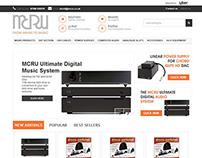 MCRU ebay store design
