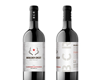 Boulder Crest Wine Packaging