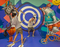 Circus, Trick Art Exhibition, Israel, 2017