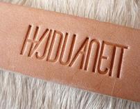 Hajdu Anett identity, web design, and packaging / 2011